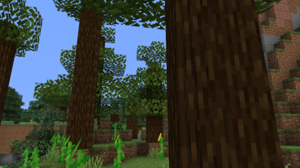 Round Trees 1 16 Minecraft Texture Pack Free Download