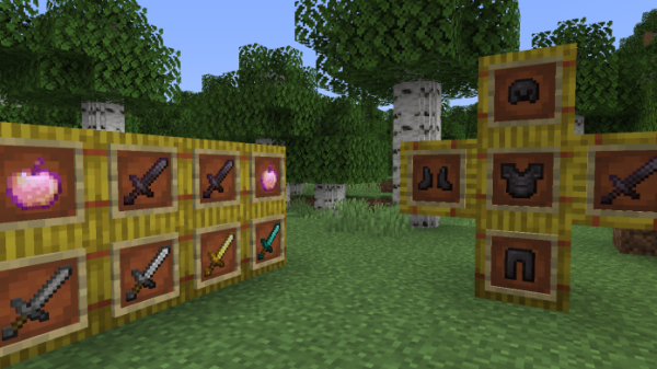 Round Trees 1.16 - Minecraft Texture Pack - 4
