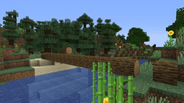 Round Trees 1.16 - Minecraft Texture Pack - 5