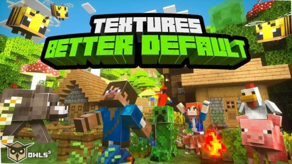Better Default Textures Pack 1.15.2 - Better Vanilla Resource Pack 1.12.2