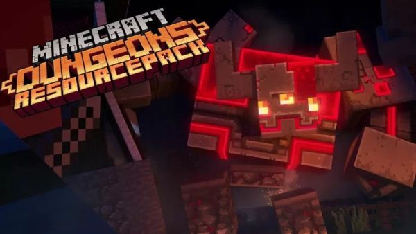 Redstone Monster Texture Pack 1.15.2 – Minecraft Dungeons Texture Pack