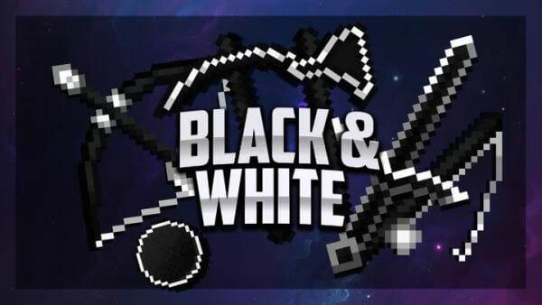 Shiro Black and White PvP Texture Pack 1.8.9 - main