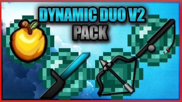 Skeppy's Dynamic Duo PvP Texture Pack 1.8.9