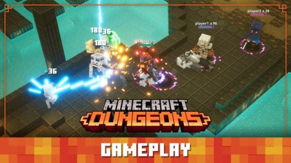 The Full Minecraft dungeons Gameplay Review