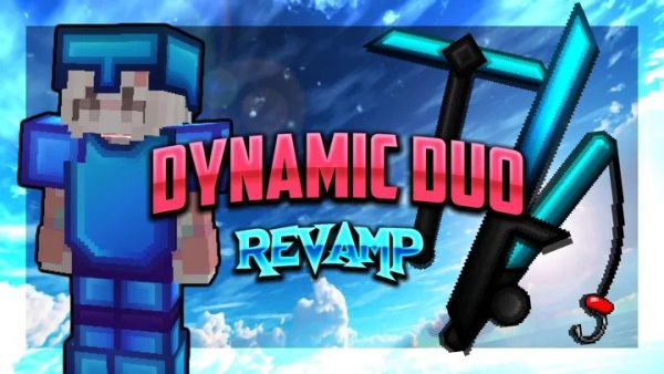 Dynamic Duo Revamp 128x 1.8.9 PVP Texture Pack