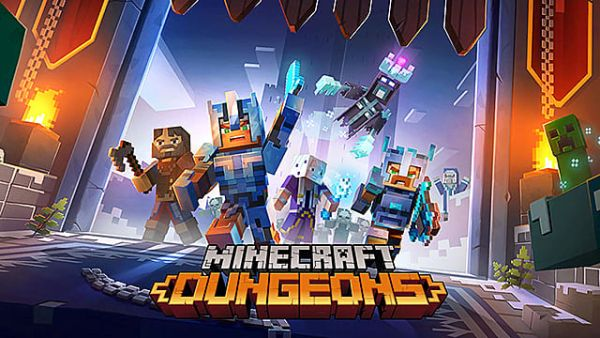 Minecraft Dungeons E