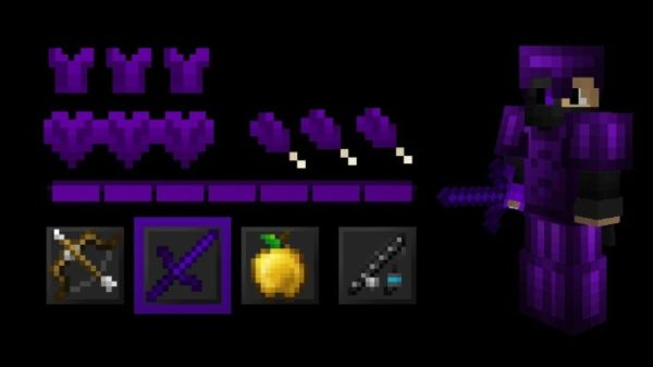 Purple PVP+ 1.8.9 UHC Texture Pack