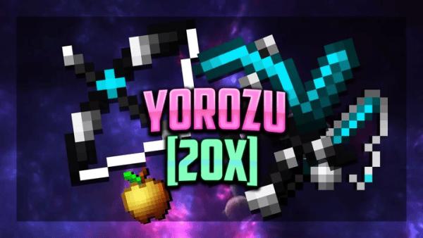 Yorozu 20x FPS PVP Texture Pack (BLUE) 1.8.9