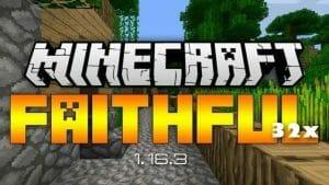Faithful 32x 1.16.5 / 1.16.4 / 1.16.3 / 1.16.2 / 1.16.1