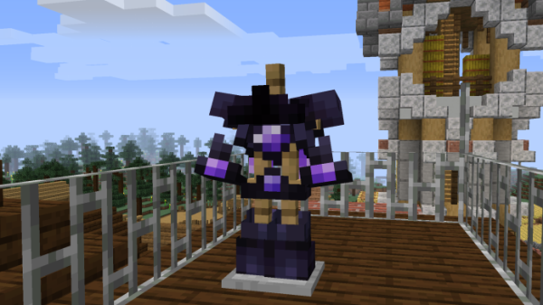 The End Themed Netherite Gear 1.16 Minecraft Texture Pack