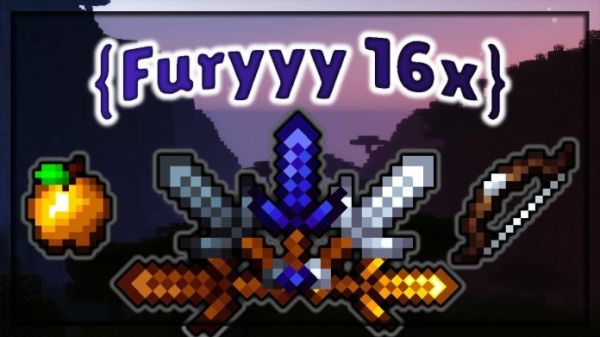 Furyyy 16x PvP Texture Pack 1.8.9