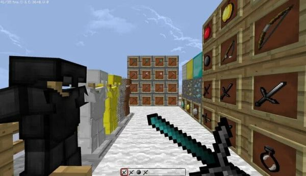 Raven 32x revamp 1.8.9 PvP Texture Pack for Minecraft
