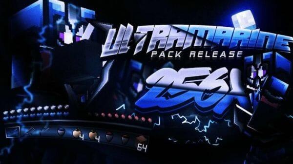 Ultramarine 256x PvP Texture Pack 1.8.9 - Super HD PvP