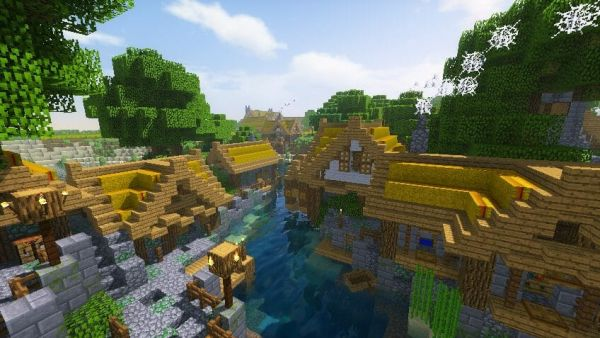 Kuda Shaders 1.16 for Minecraft 3