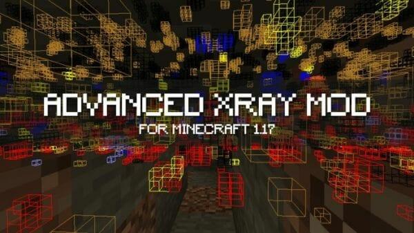 Advanced Xray Mod 1.17.1 for Minecraft