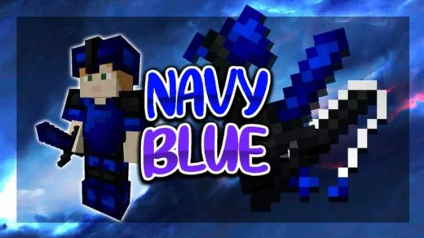 Navy PvP Texture Pack (Smooth Blue Textures)
