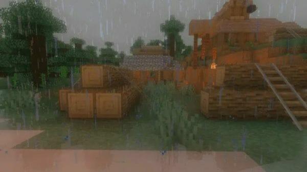 Oceano Shader 1.17 for Minecraft - 1