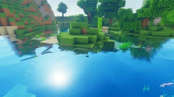 Oceano Shader 1.17 for Minecraft - 3