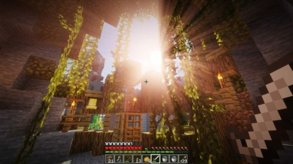 Sildurs Shaders 1.17 for Minecraft - 1