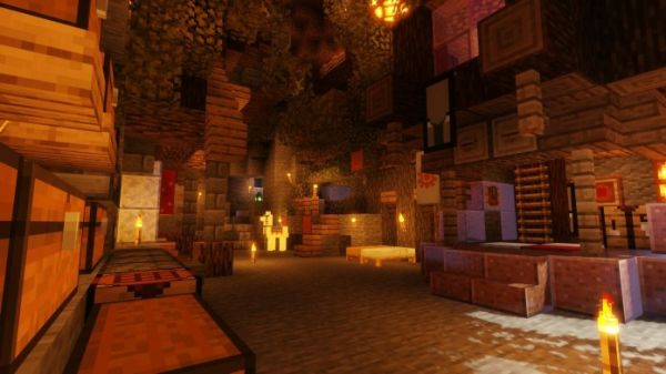 Sildurs Shaders 1.17 for Minecraft - 2