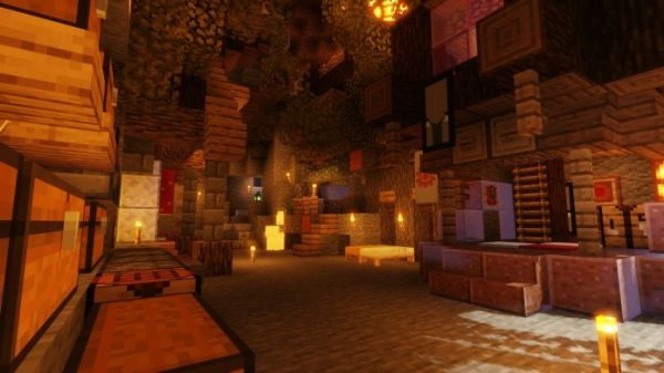 Voyager Shaders 1.17 for Minecraft
