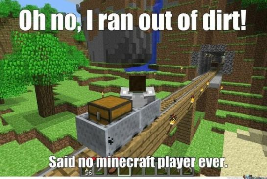 Minecraft Meme - 1