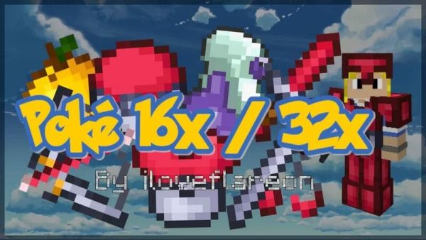 Poke PvP Texture Pack 16x 1.8.9