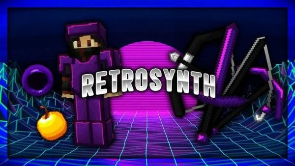 Retrosynth PvP Texture Pack 64x 1.8.9