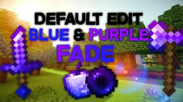 Default Edit Blue & Purple Fade 16x 1.8.9