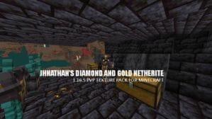 Jhnathan's Diamond and Gold Netherite