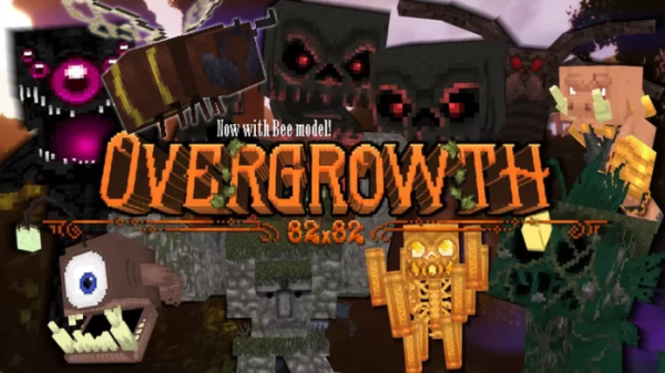 Overgrowth 32x 1.16.5 Texture Pack (works with 1.17 snapshot)