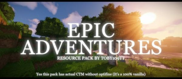 Epic Adventures 1.17 Resource Pack - main