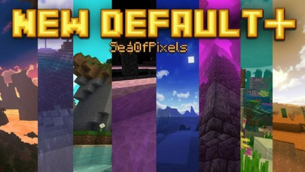 New Default+ 1.17.1 Resource Pack - main