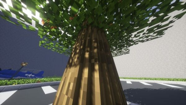 Round Trees Texture Pack 1.17.1