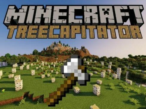 Treecapitator 1.17.1 – Cut Down Trees Instantly