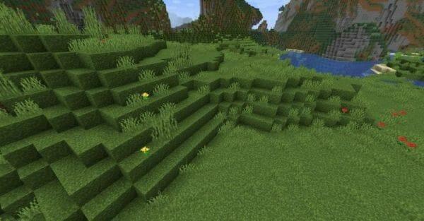 Better grass 1.17.1 Resource Pack - 2