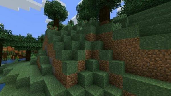 Better grass 1.17.1 Resource Pack - 3