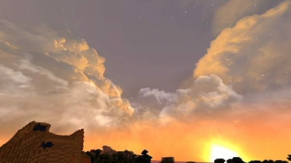 Dramatic Skys 1.17.1 Resource Pack - 1