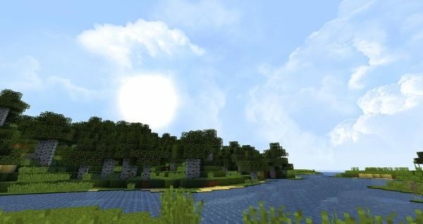Dramatic Skys 1.17.1 Resource Pack - 3