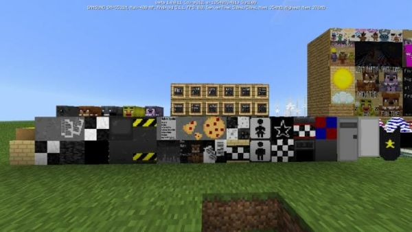 Five Nights At Freddys Pack v1.4 for Minecraft 1.18 2