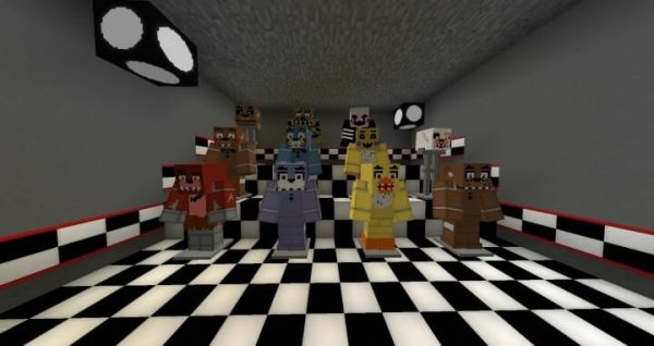 Five Nights At Freddys Pack v1.4 for Minecraft 1.18 3