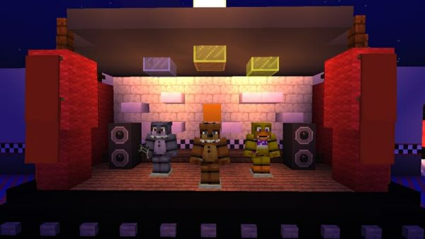Five Nights At Freddys Pack v1.4 for Minecraft 1.18 4