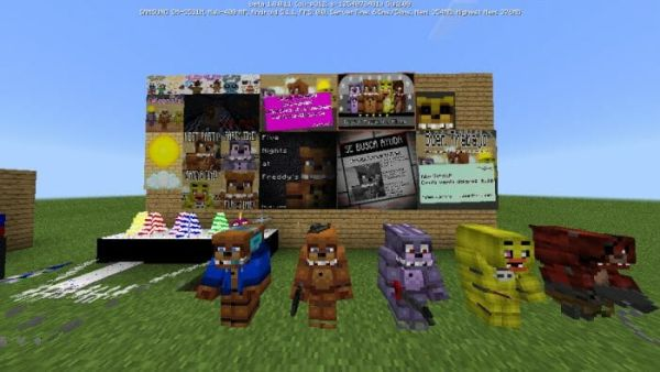 Five Nights At Freddys Pack v1.4 for Minecraft 1.18