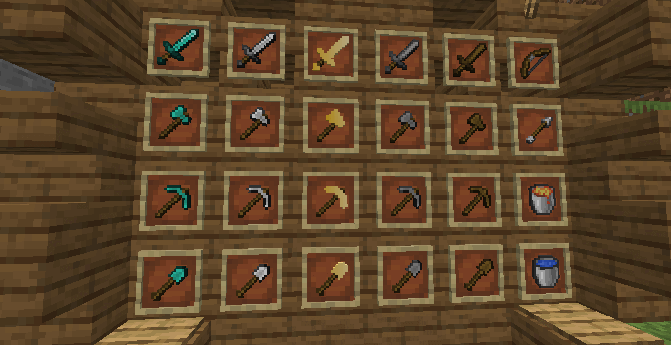 Sunny 16x PvP Texture Pack 1.18 - 1