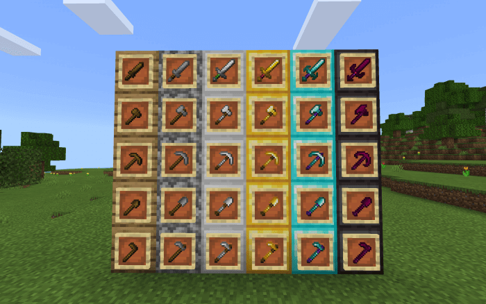 Upgraded Tools Pack 1.18 - 2
