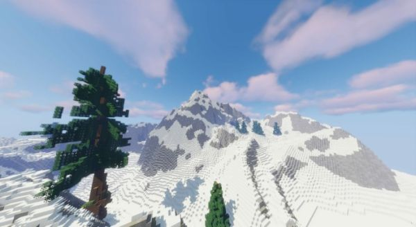 Breath of the Wild Map Recreated in Minecraft - B