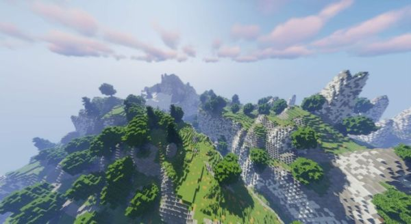 Breath of the Wild Map Recreated in Minecraft - main