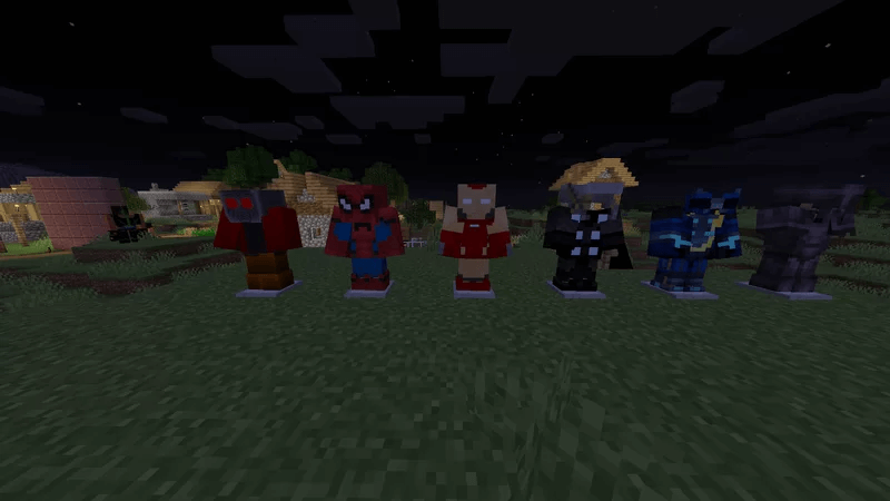 DC & Marvel Texture Pack 1.17.1 - 1