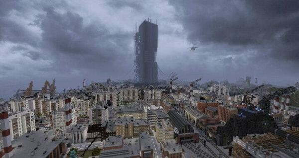 Half-Life 2 Fully Rebuilt in Minecraft, and it's Playable