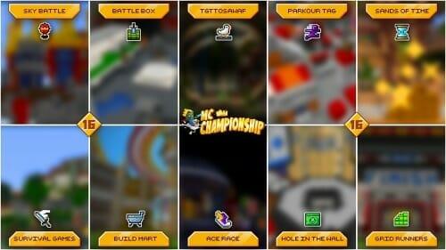 MCC mini-games